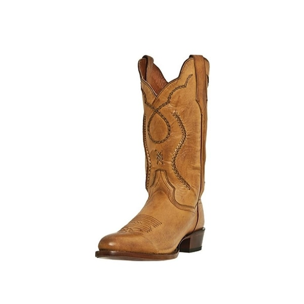 Dan Post Western Boots Mens Albany Bucklace Palomino Saddle