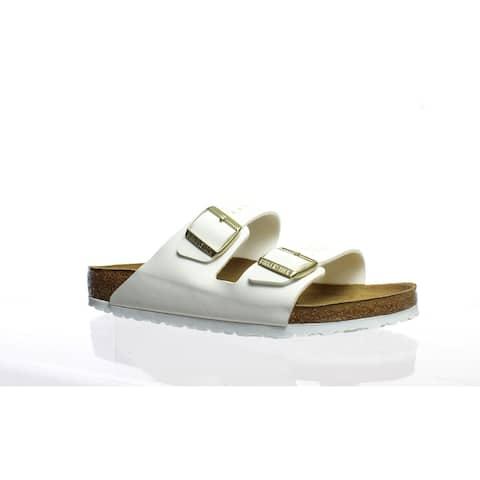 Birkenstock Womens Arizona White Sandals EUR 42