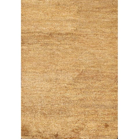 """Indoor/ Outdoor Contemporary Area Rug Hand-knotted Oriental Carpet - 4'2"""" x 5'11"""""""