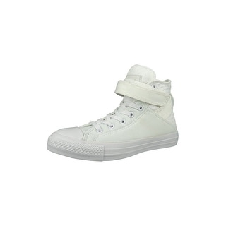 Converse Chuck Taylor All Star Brea Neoprene Hi Women's Lace-Up Casual Shoes - white/white/white