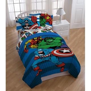 Marvel Comics Good Guys Reversible Oversized Twin Comforter