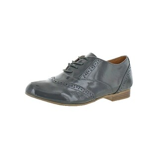 Not Rated Womens Spotting Color Oxfords Patent Leather Padded Insole - 6 medium (b,m)