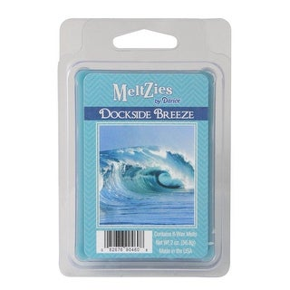 Meltzies Dockside Breeze Scented Wax Cube Melts - 2 oz. - N/A