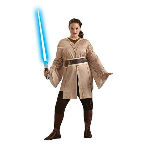 Star Wars Jedi Knight Costume Adult Plus - Beige