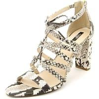 Alfani Womens Jaqui Open Toe Special Occasion Strappy Sandals