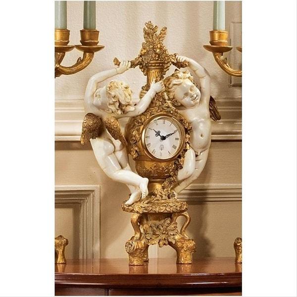Design Toscano The Cherub's Harvest Clock