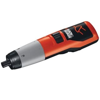 Black & Decker DP240 Cordless Rechargeable Screwdriver, 2.4 volt|https://ak1.ostkcdn.com/images/products/is/images/direct/6c83c564f52b43e4da60e6592422ed7a4f96f4ca/Black-%26-Decker-DP240-Cordless-Rechargeable-Screwdriver%2C-2.4-volt.jpg?impolicy=medium