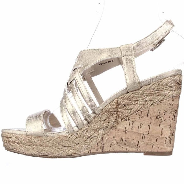 Style & Co. Womens Raylynn Open Toe Casual Platform Sandals