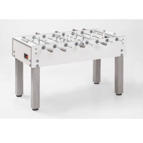 Garlando G-500 Pure White Foosball Table / 26-7895