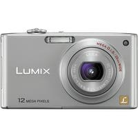 Panasonic Lumix DMC-FX48 12.1MP Silver Digital Camera