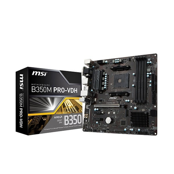 Msi - Components - B350m Pro-Vdh