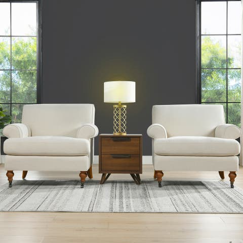 Clarence Lawson Accent Chair by Jennifer Taylor Home