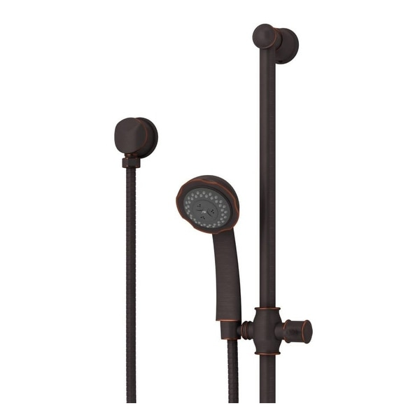 """Symmons 552HSB Elm 2.5 GPM Multi-Function Hand Shower with 30"""" Slide Bar and Cradle"""