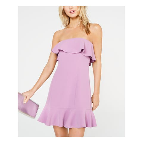 RACHEL ZOE Purple Sleeveless Short Dress 2