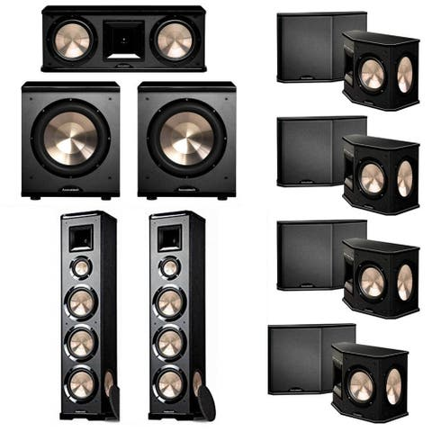 BIC Acoustech 7.2 System with 2 PL-980 Speakers