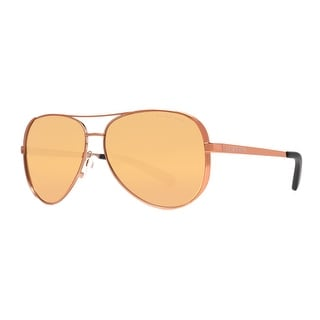 MICHAEL KORS Aviator MK 5004 Women's 1091 5N Rose Gold Brown Sunglasses - 59mm-13mm-135mm
