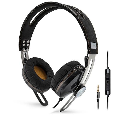 Sennheiser HD1 On Ear Stereo Headphones for iOS (Black)