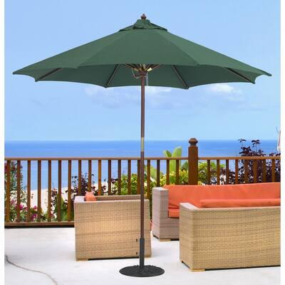 Tropishade 9-foot Premium Green Olefin Umbrella