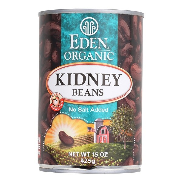 Eden Foods Organic Kidney Beans - Case of 12 - 15 oz.