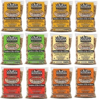 Smokehouse Assorted Wood Flavored Chips 12 Pack Assortment 9791-000-0000
