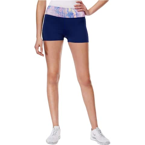 Jessica Simpson Womens The Warm Up Athletic Compression Shorts