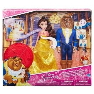 Hasbro HSBC0543 Disnep Princes Belle & Beast Transformation Toys