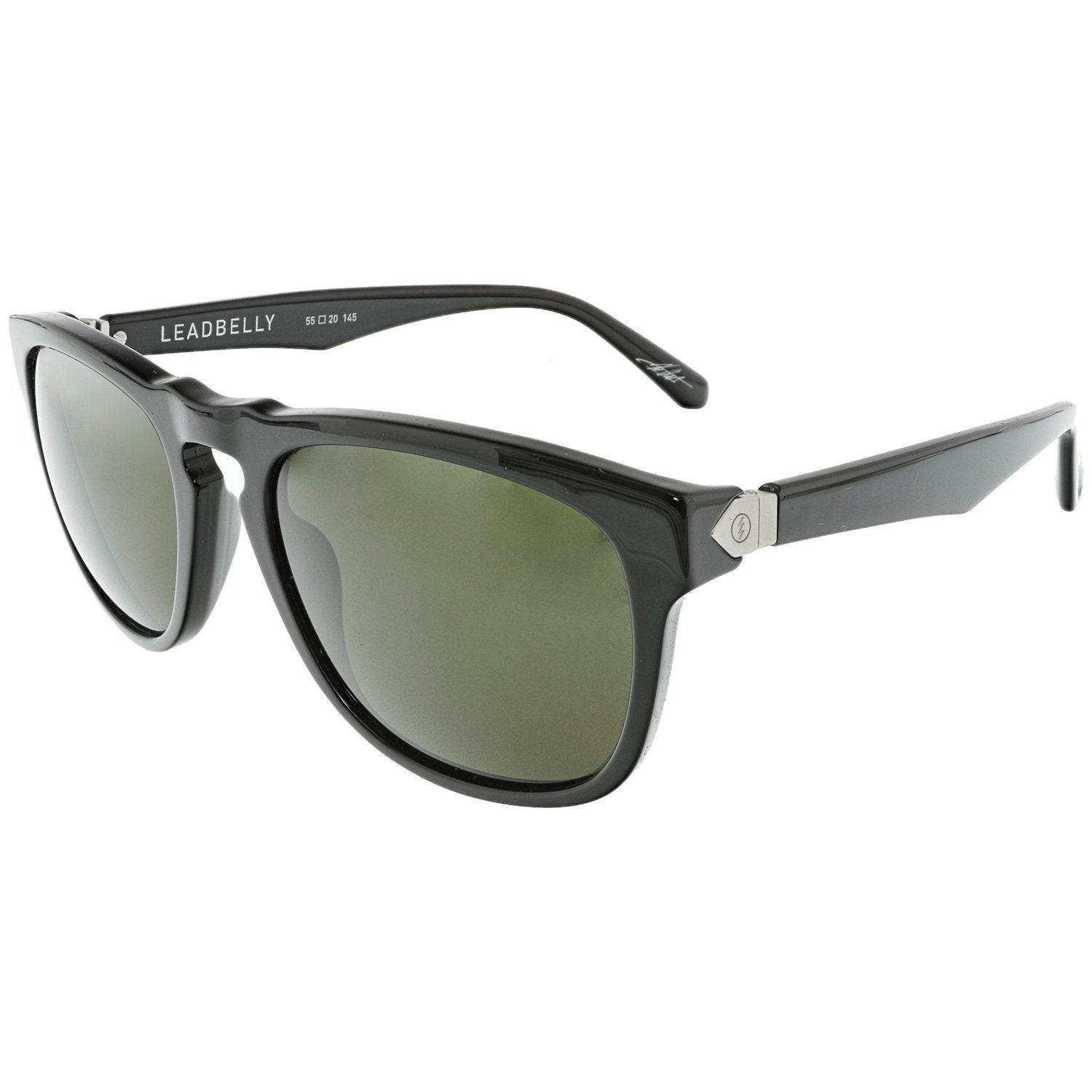 f2537bfb48b0 Shop Electric Men's Leadbelly EE13301601 Grey Rectangle Sunglasses - Free  Shipping Today - Overstock.com - 18892746