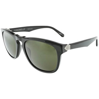 Electric Men's Leadbelly EE13301601 Grey Rectangle Sunglasses