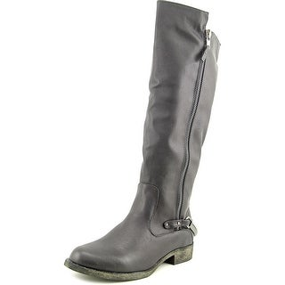 Coconuts By Matisse Martin Women  Round Toe Synthetic Black Knee High Boot