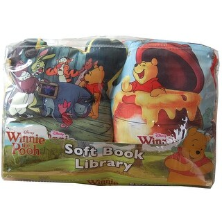 Disney Soft Book Library 2 Pack Winnie The Pooh - multi