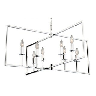 "Artcraft Lighting AC10723 Allston 8-Light 35-1/2"" Wide Chandelier - N/A"