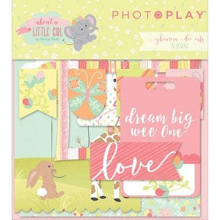 About A Little Girl Ephemera Cardstock Die-Cuts-