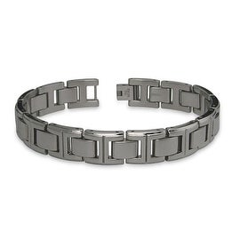 Titanium Men's Link Bracelet - 8.5 inches