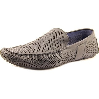 Kenneth Cole Reaction Next Step Men Moc Toe Leather Loafer