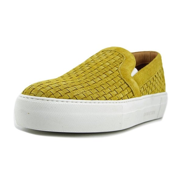 Armando Cabral Bowery Men Round Toe Leather Yellow Loafer