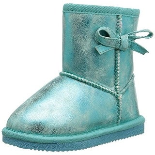 Western Chief Elsa Toddler Girls Metallic Casual Boots