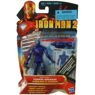 "Marvel Iron Man 2 Concept 3.75"" Action Figure: Iron Man Fusion Armor - multi"