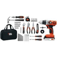 Black & Decker BDKLDX120PKM 20-Volt MAX Lithium-Ion Drill and Project Kit Black & Decker LDX120PK 20-Volt MAX Lithium-Ion Drill
