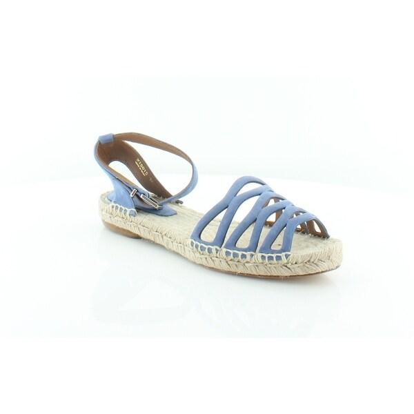 8f6007898 Shop Giorgio Armani X1S015 Women s Sandals Bluette - 8.5 - Free ...