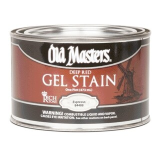 Old Masters 84408 Gel Stain, Expresso, 1 Pint