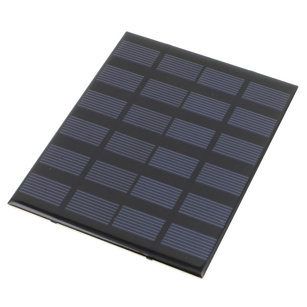 6V 1.5W DIY Polycrystallinesilicon Solar Panel Power Battery Charger 140mmx110mm