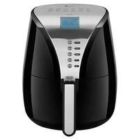 Zelancio IDD-1500 Digital LCD Display Stainless Steel Air Fryer with Easy One-touch Cooking Options. Premium Multifunctional Coo