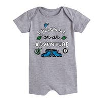 Follow Me On An Adventure - Infant Romper