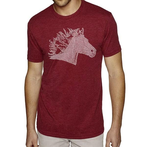 Men/'s Premium Blend Word Art T-shirt Unicorn