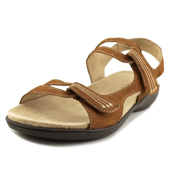 Trotters Katarina Open-Toe Leather Sport Sandal
