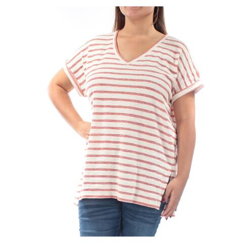 STYLE & COMPANY Coral Cap Sleeve Tunic Top XL