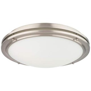 "Forecast Lighting F245236U 2 Light 18"" Wide Flush Mount Ceiling Fixture from the West End Collection"