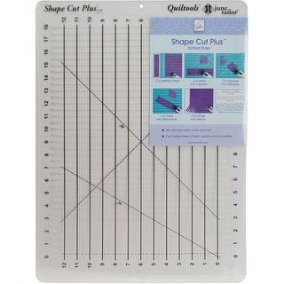 "Shape Cut Plus Ruler-12""X18"""