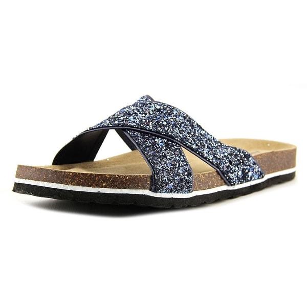 Jambu Grace Women Open Toe Synthetic Blue Slides Sandal