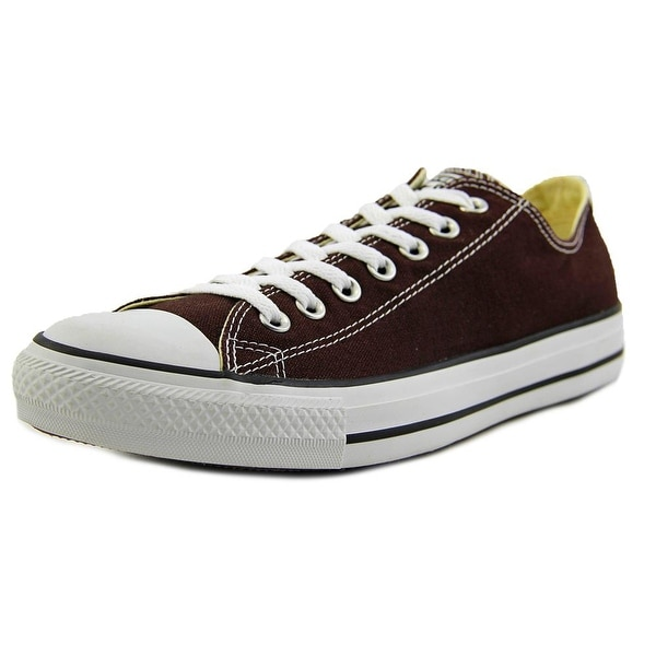 9c58d58ded1 Shop Converse Chuck Taylor All Star Ox Men Round Toe Canvas Brown ...